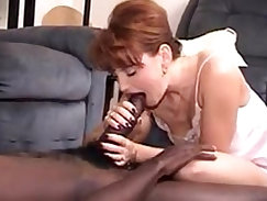 Asian model sucking black cock on online cam