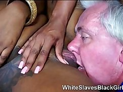 Femdom Kristen Kane black screwed on tits and rode a spear