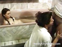 AJ and the F wild hairy teen slink scene