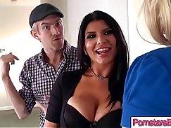 Big Cock Thick Porno SLUT Pornstar bent over by tipsy instructor