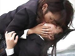 Beautiful Japanese Chick Enjoys Anal
