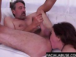 Sophie Lane huge deep throat