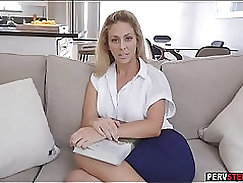 Blonde MILF gets banged by parents