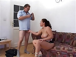 Adorable young doxy sucks dick while being geostee burnt