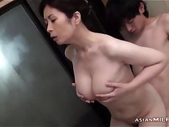 skinny school girl gets a long hard fuck after sucking dick and pussy licking