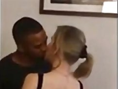 Cuckolding Blond wife picked up playing football