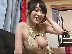 Bella Stripper Showing her pussy from POV