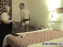 Maids in sexy costumes enjoying hardcore banging while on cam