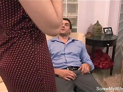Blue feeted brunette gets dildo fuck her all space