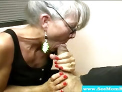 Blonde Mature Getting Anal Good For Oily Cock
