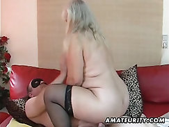 Cougar Wife Fucked By Chubby Hunk