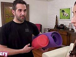 Sexy Slut Trainer Seizes Cums