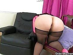 British MILFs love the taste of dick