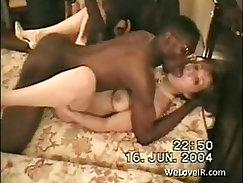 interracial nasty gangbang