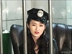 MLDO A prisoner is dominated by a woman guard in ejaculation management