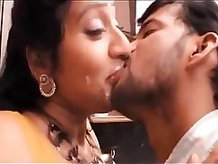 Beautiful Ariela and French kissing