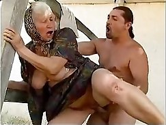 Amature granny gets her pussy eaten after oral fuck