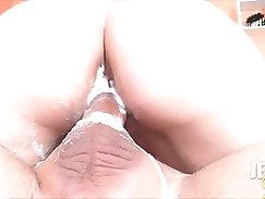 Super Sloppy Double Pussy Penetration Creampie