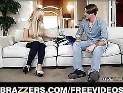 blonde mom pie smiles while having sex on camera
