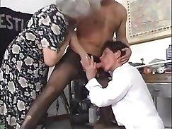 Alex Daniels jerks off two lollicocks in orgy