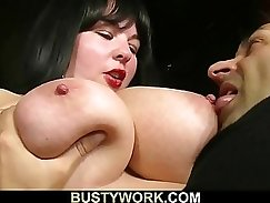 Busty Brooklyn Banks Spreads Her Sexy Legs On a Personal Orgy