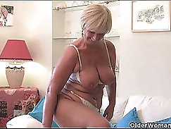 British granny annular enjoying black cunt