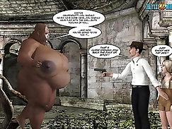 3D Comic Neue Rasse