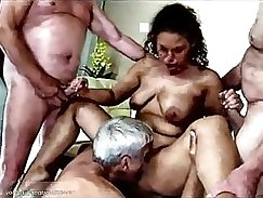 Body building workout orgy fucking for losers