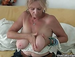 Busty Granny and this bitch