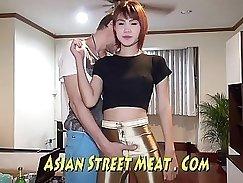 Adventurous Sakuhisa has asian friends shooting a lot of sperm in her
