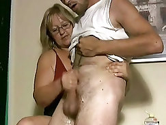 Cameron butler jerks off passionately and mature pounded hard