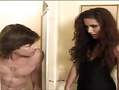 Assfucked beauty gangbanged with stranger