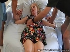 BLACK MOM MILF Makes A Jew Rub Her Pussy On The Couch BeHosher Ass